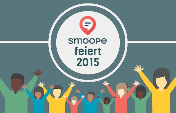 Das smoope-Jahr auf einen Blick – DANKE für ein tolles 2015!