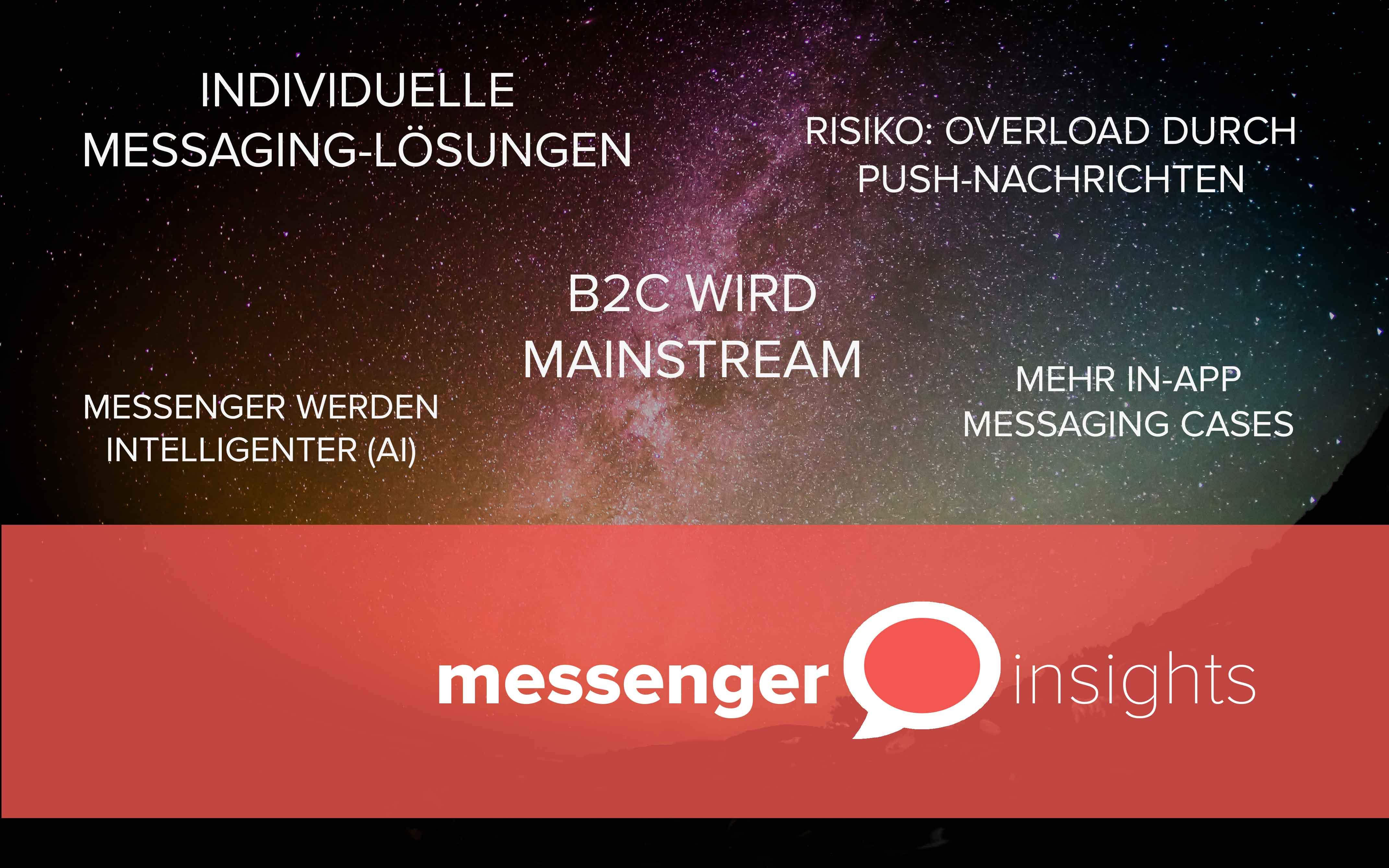 Die Zukunft des Messaging: 5 Trends, die jeder kennen sollte