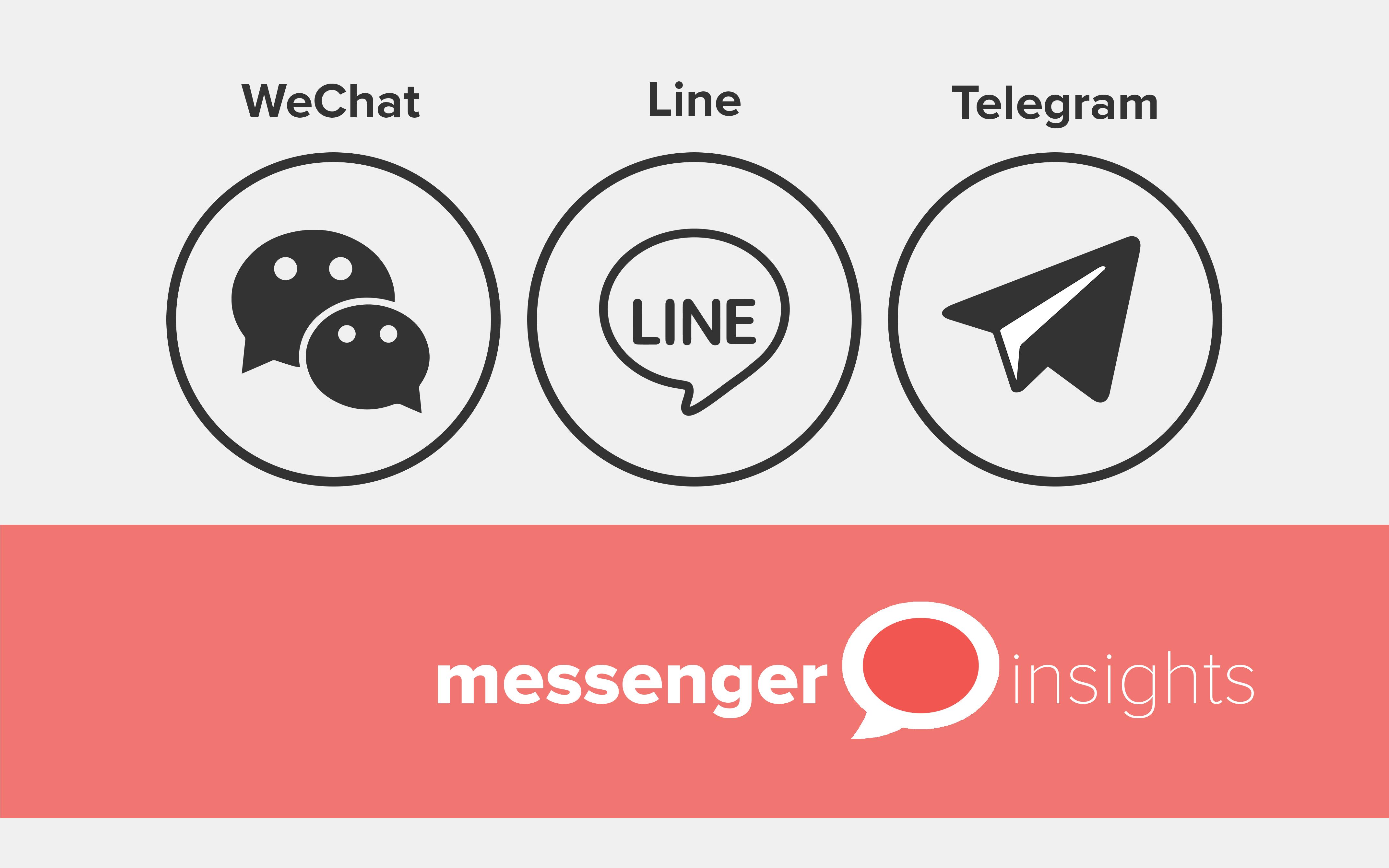 Unser Dreiteiler: Was können die Anderen? – WeChat, Line & Telegram