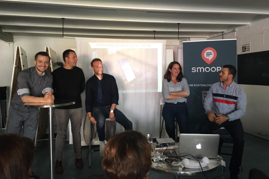 smoope Abschluss-Event Pilotphase mit Schweizer Unternehmen