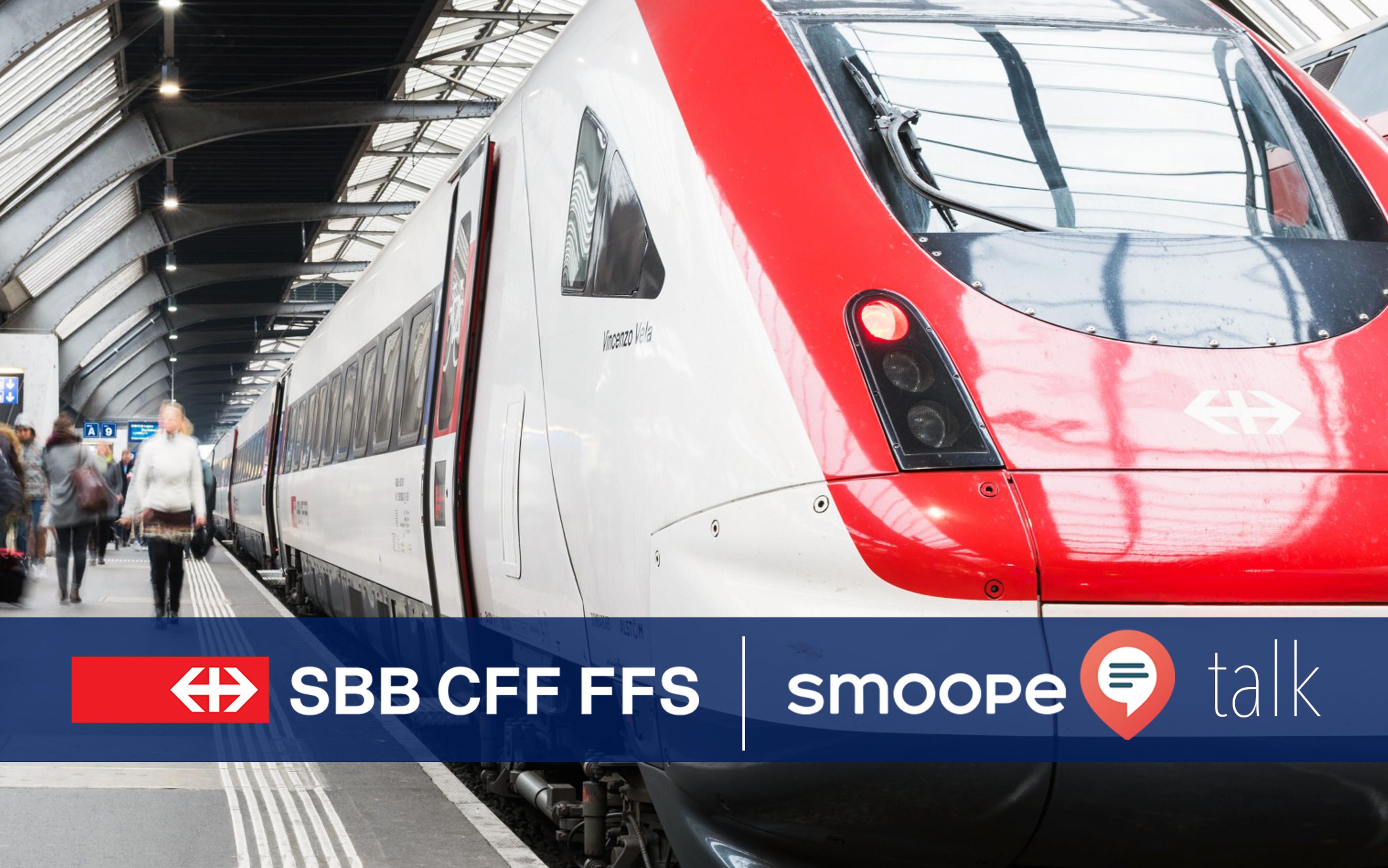 smoope im Gespräch: SBB über die Digitalisierung, den Bahnhof der Zukunft und mehr