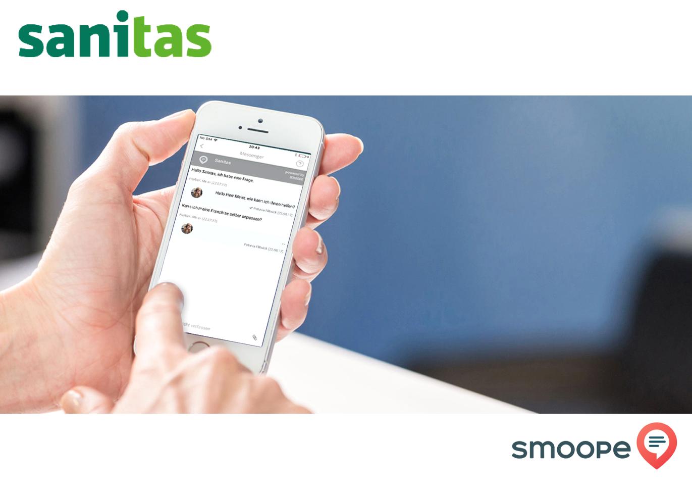 Erfahrungsbericht: 100 Tage Messenger-Service in der Sanitas-App
