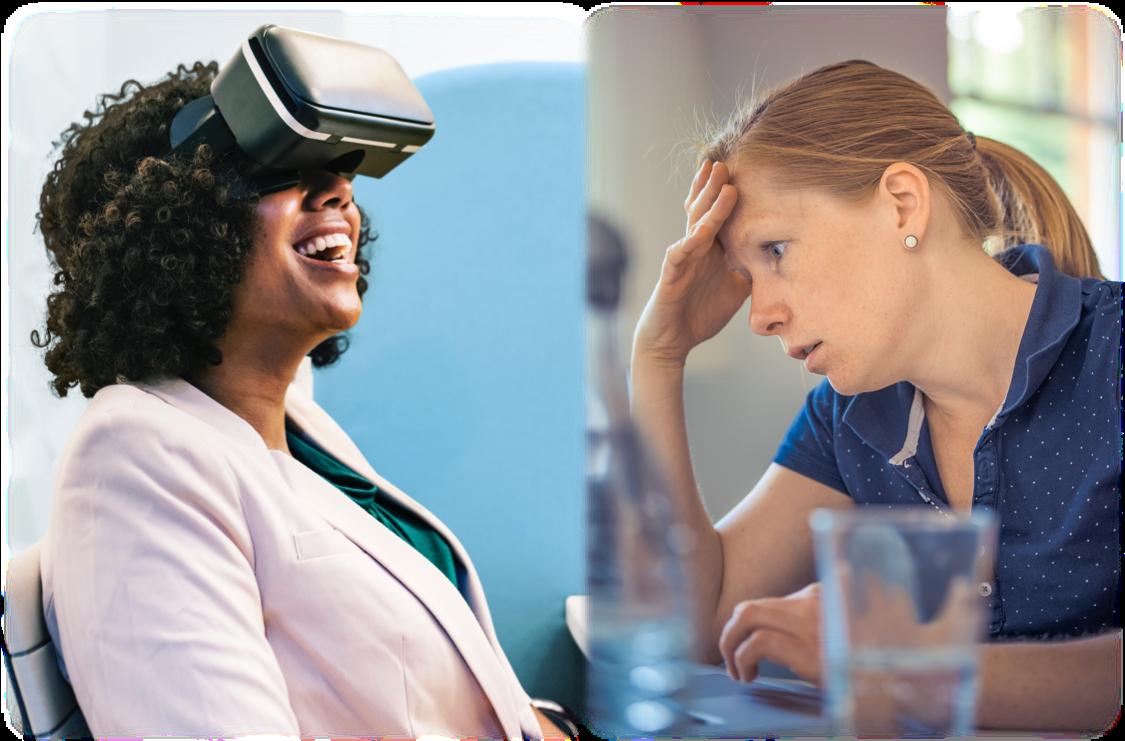 Zukunft vs. Realität: Weshalb Banken und Versicherungen ihre Kunden im Hier und Jetzt nicht vergessen sollten.